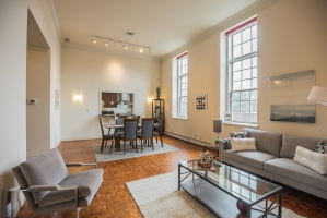 The Willings Condominium in Society Hill -Lovely  2 Bedroom, 2.5 Bath  with Parking! - 225  S.4th Street #202: