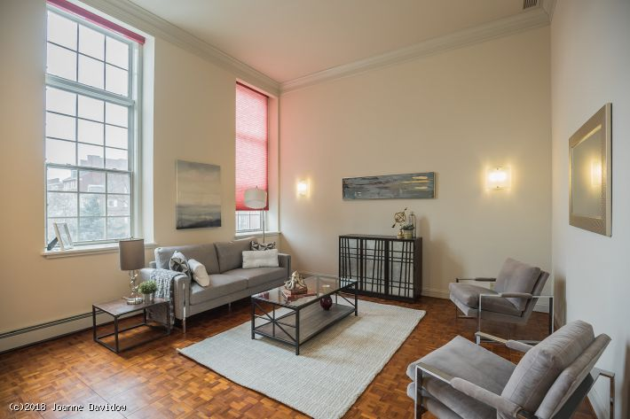 The Willings Condominium in Society Hill -Lovely  2 Bedroom, 2.5 Bath  with Parking! - 225  S.4th Street #202